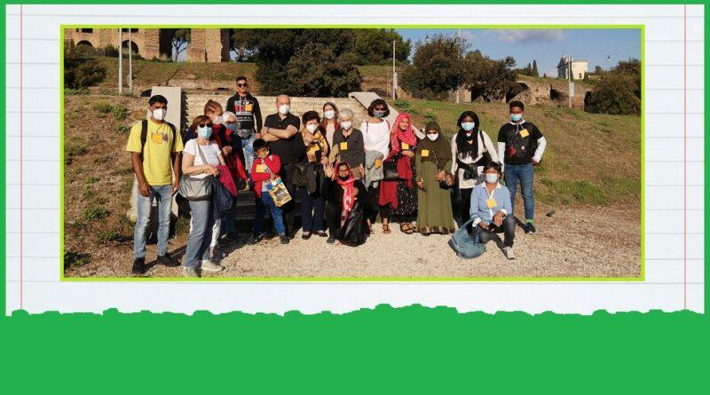Volontariato: italiano per migranti all'aperto a Roma